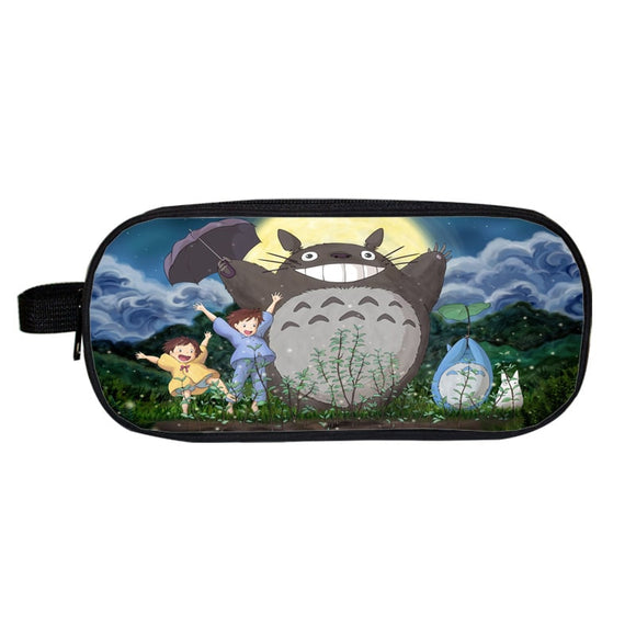 My Neighbor Totoro Happy Mei Satsuki Big Moon Pencil Case