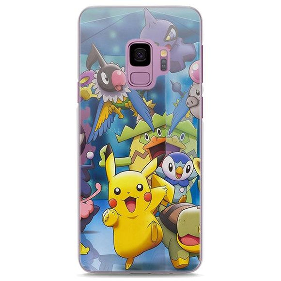 Pokemon Pikachu And Friends Blue Samsung Galaxy Note S Case