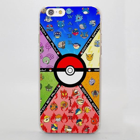 Pokemon Animals Monsters Category Lovely iPhone Case