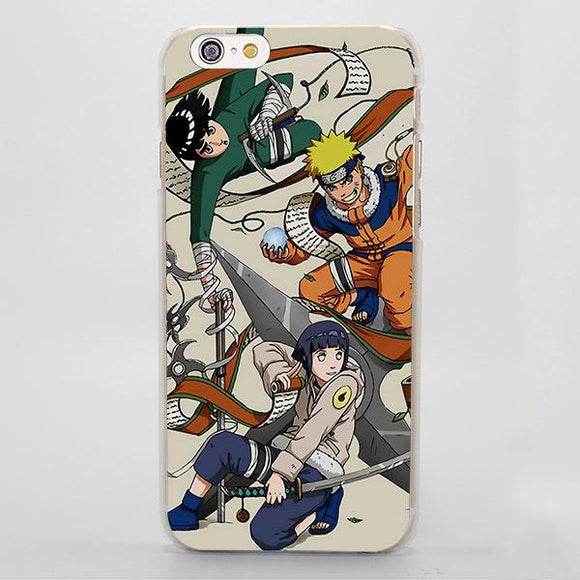Naruto Anime Hinata Lee Childhood Konoha Ninja iPhone Case