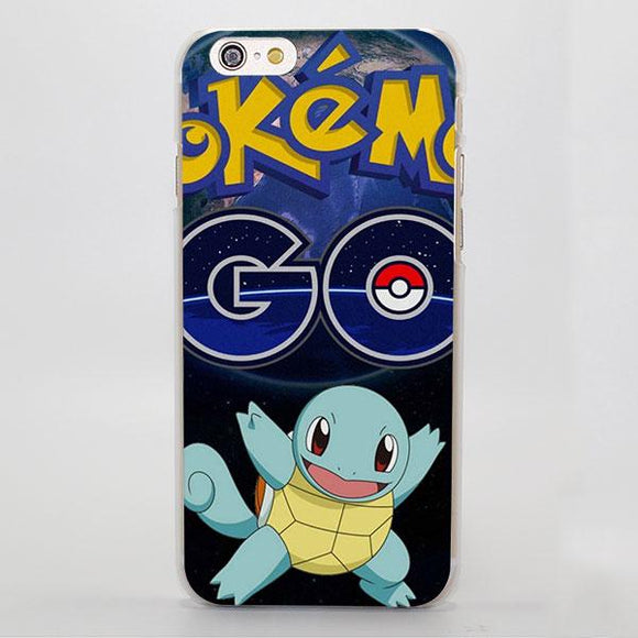 Pokemon Go Anime Game Squirtle Cutesy Charming iPhone Case