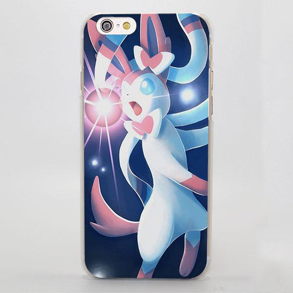 Pokemon Anime Sylveon Pinky Adorable Lovely iPhone Case