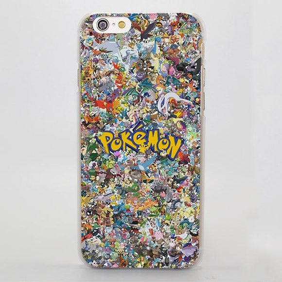 okemon All Animals Monsters Cute Collection iPhone Case