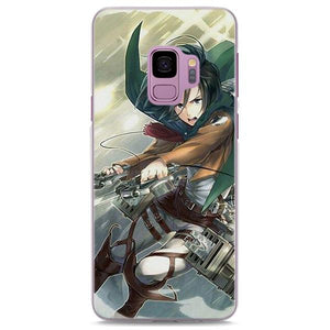 Attack On Titan Mikasa Iconic Swords Samsung Galaxy Note S Series Case