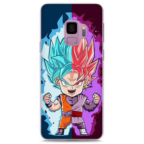 DBZ Goku SSGSS God Chibi Samsung Galaxy Note S Series Case