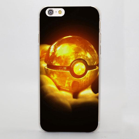 Pokemon Golden Elf Poke Ball Amazing Stunning iPhone Case