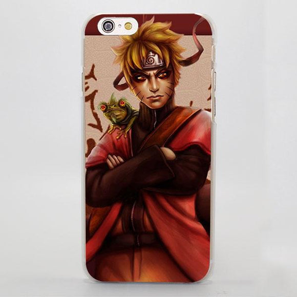 Naruto Uzumaki Powerful Sage Mode Elegant iPhone Case