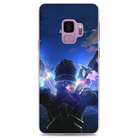 SAO Kirito Black Swordsman Cool Samsung Galaxy Note S Series Case