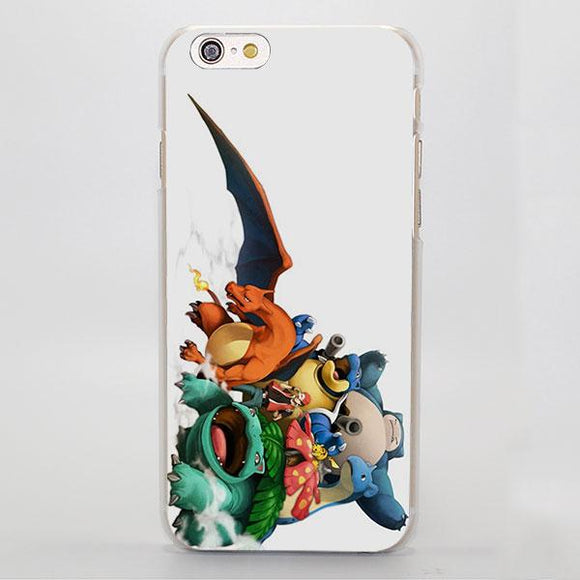 Pokemon Venusaur Charizard Blastoise Snorlax iPhone Case