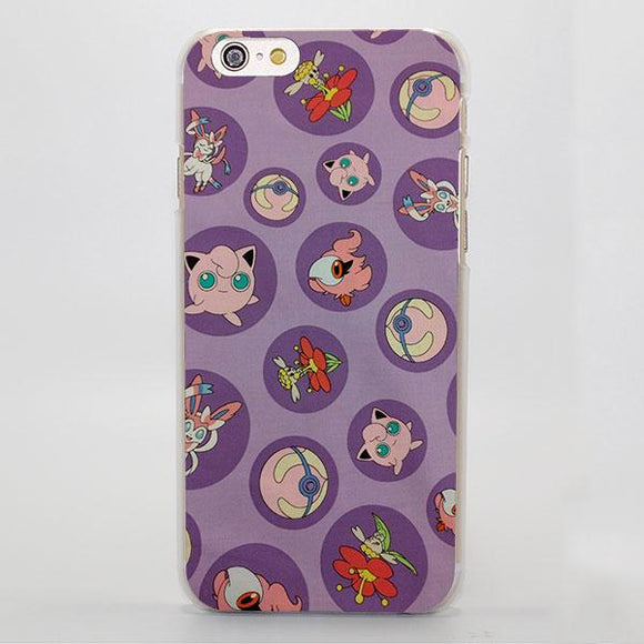 Pokemon Cute Jigglypuff Elf Ball Adorable iPhone Case