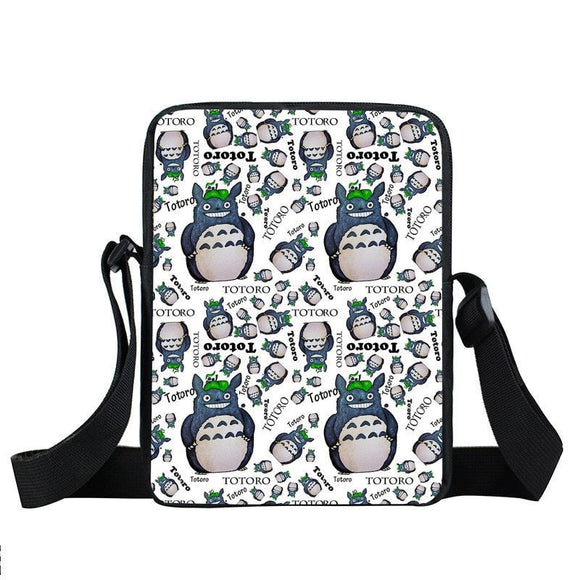 My Neighbor Totoro Optimistic Smile Pattern Cross Body Bag