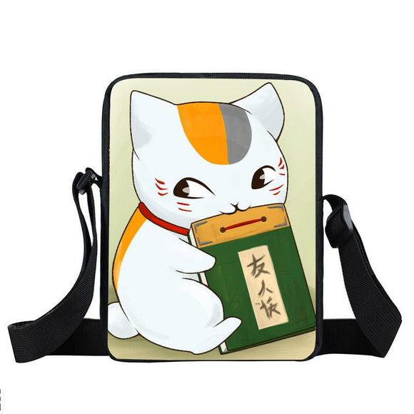 Natsume Yuujinchou Cute Madara Book Bite Cross Body Bag