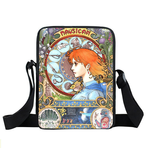 Amazing Nausicaa Of The Valley Of The Wind Cross Body Bag