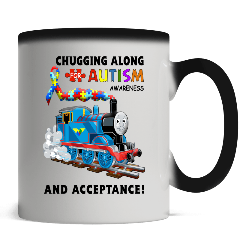 Thomas The Train Autism Awareness T-shirts - Magic Mug