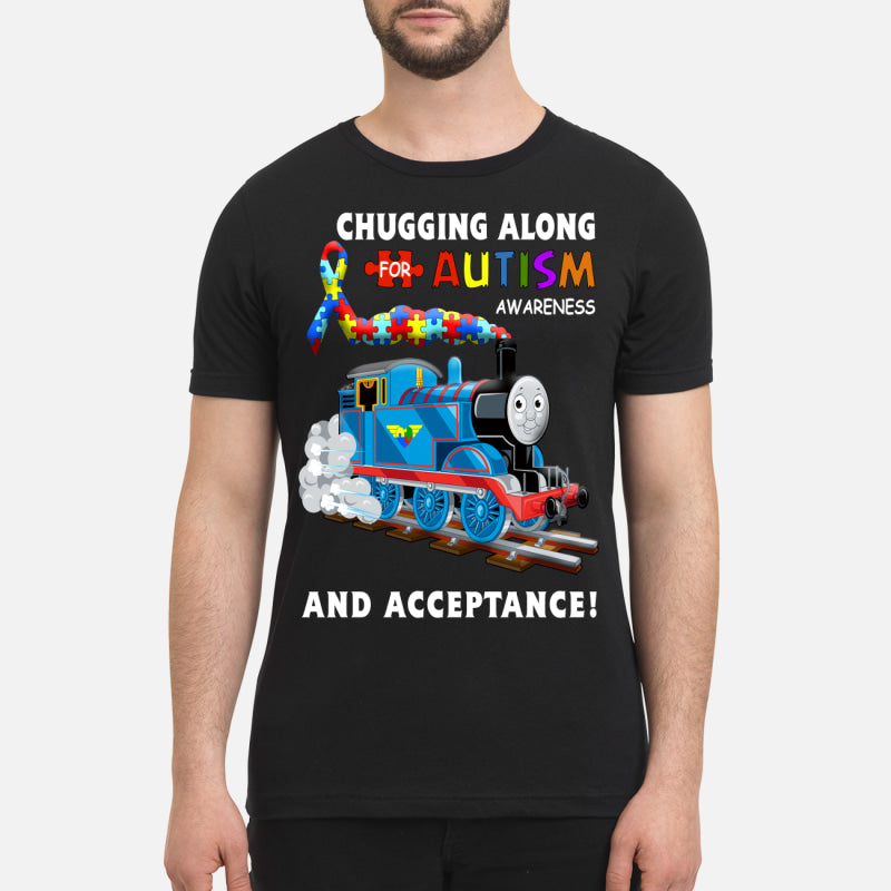 Thomas The Train Autism Awareness T-shirts - Premium Men's T-shirt