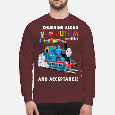 Thomas The Train Autism Awareness T-shirts - Unisex Sweatshirt