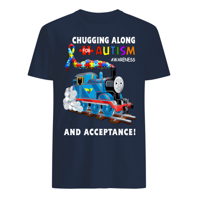 Thomas The Train Autism Awareness T-shirts - Men's T-Shirt