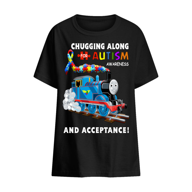 Thomas The Train Autism Awareness T-shirts - Kids T-Shirt