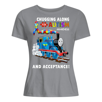 Thomas The Train Autism Awareness T-shirts - Premium Women's T-shirt