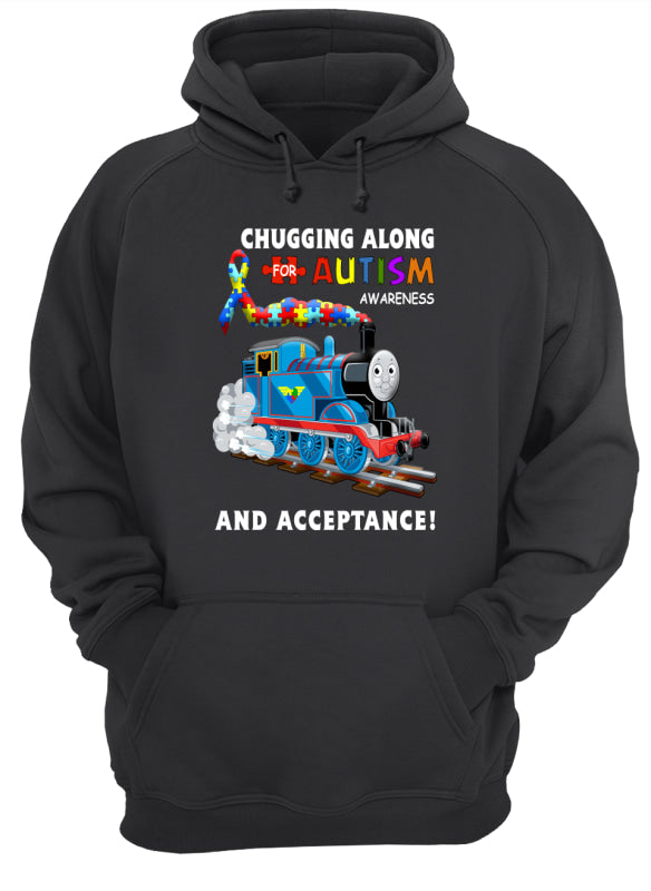 Thomas The Train Autism Awareness T-shirts - Unisex Hoodie