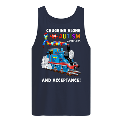 Thomas The Train Autism Awareness T-shirts - Men's Tank Top