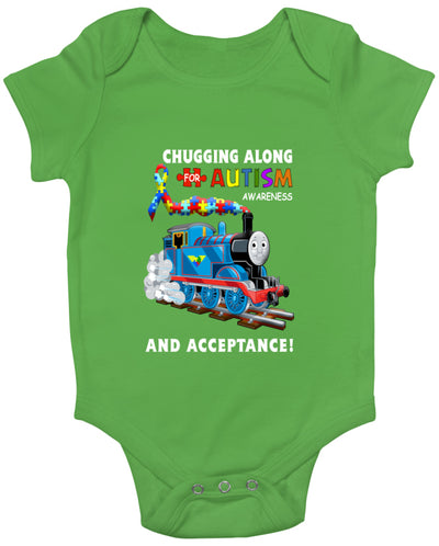 Thomas The Train Autism Awareness T-shirts - Babygrow