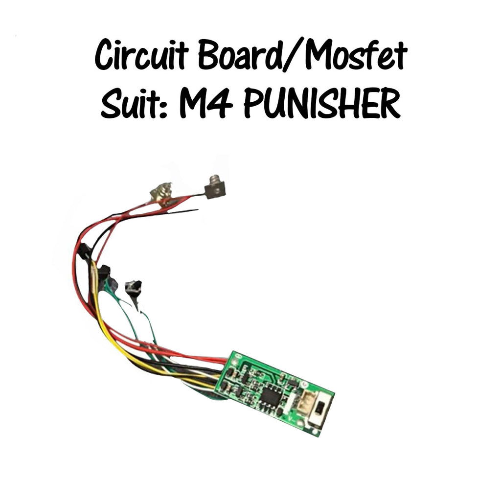 M4 PUNISHER MOSFET/CIRCUIT BOARD