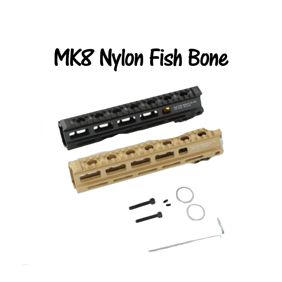 MK8 nylon fish bone