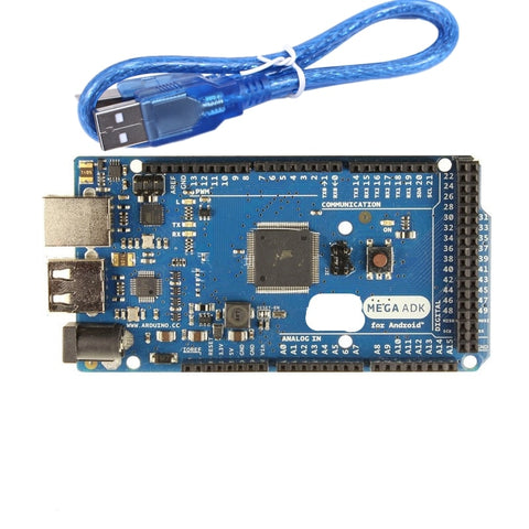 1Set Mega 2560 R3 16AU Board 2012 Google Open ADK Main Board (for Compatible Mega 2560 ATmega2560 16AU + USB Cable
