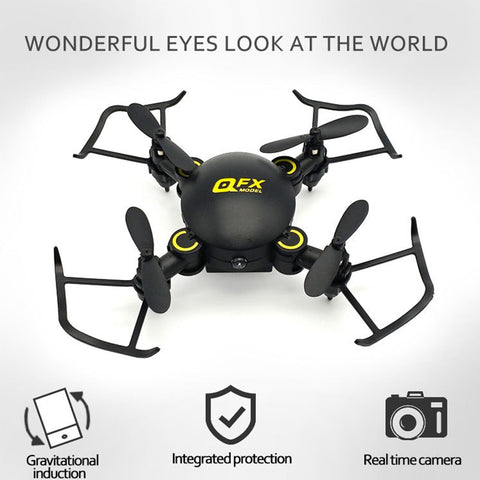 2.4G Altitude Hold Led 4 Axis Drone Mini Toys Aircraft Foldable Remote Control Quadcopter RC WIFI quadcopter