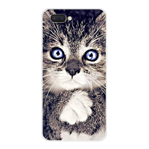 6.2'' For Oppo A3S Case OppoA3S Soft Silicon TPU Back Cover For OPPO A5 OPPOA5 Case A 3S A3 S ax5s Cover Animal Phone Cases