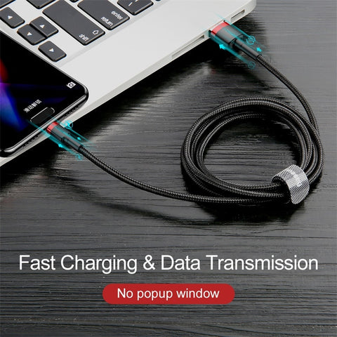 Image of Baseus USB Type C Cable for xiaomi redmi k20 pro USB C Mobile Phone Cable Fast Charging Type C Cable for USB Type C Devices