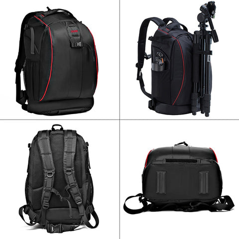 Image of CADeN Photography bag mochila fotografia DSLR Camera Shoulder Bags backpack laptop for Canon Nikon Travel Shockproof lens Cases