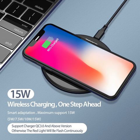 Image of 15W Qi Wireless Charger for  Xiaomi 9 Huawei P30 pro