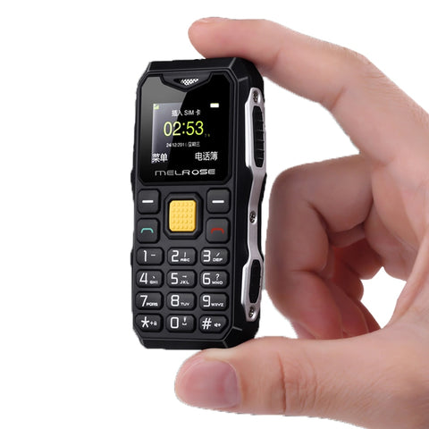 Jeasung Melrose S10 Russian Keyboard Big Voice Bar Simple Mini Cell Phone LED Flashlight FM MP3 Bluetooth Dialer  Olders phone