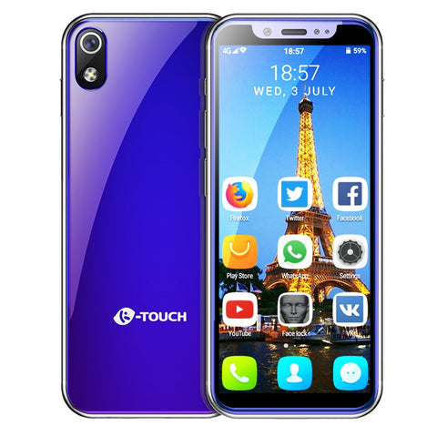 Image of K TOUCH mini smallest smartphone 3.5 inch android 8.1 Quad Core mobile phone Dual sim Unlocked small telephone touch cell phones
