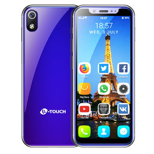 K TOUCH mini smallest smartphone 3.5 inch android 8.1 Quad Core mobile phone Dual sim Unlocked small telephone touch cell phones