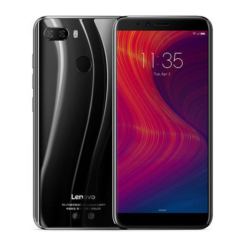 Lenovo K5 Play L38011 3GB 32GB 4G Mobile Phone 5.7'' Snapdragon MSM8937 Octa Core Rear Camera 13MP+2MP Front Camera 8MP