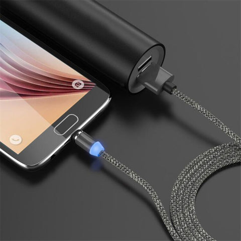 Image of Magnetic Micro USB Cable For iPhone Samsung Type c Charging Charge Magnet Charger Adapter USB Type C Mobile Phone Cables