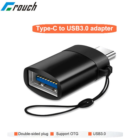 Image of OTG type c usb c adapter micro type c usb c usb 3.0 Charge Data Converter for samsung galaxy s8 s9 note 8 a5 2017 one plus usbc