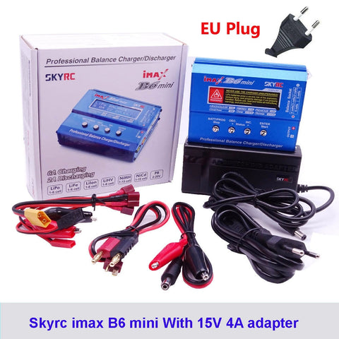 Original SKYRC IMAX B6 MINI Balance Charger Discharger For RC Helicopter Re peak NIMH/NICD LCD Smart Battery Charger