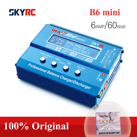 Image of Original SKYRC IMAX B6 MINI Balance Charger Discharger For RC Helicopter Re peak NIMH/NICD LCD Smart Battery Charger