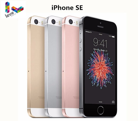 Original Unlocked Apple iPhone SE 12MP 4 inch Fingerprint Dual core 4G LTE Smartphone 2GB RAM 16/64GB ROM Touch ID Mobile Phone
