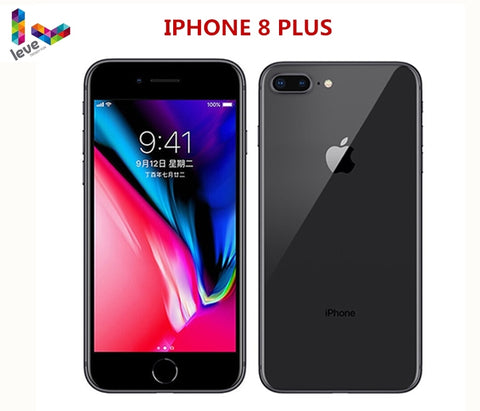 Image of Original Unlocked Apple iphone 8 Plus 4G LTE 5.5 inch Hexa Core 3GB RAM 64G/256G ROM Cellphone 12MP iOS Fingerprint Mobile Phone
