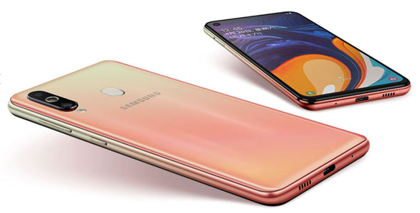 "Samsung Galaxy A60 A6060 Dual Sim 6GB RAM 64/128GB ROM Original LTE Mobile Phone Octa Core 6.3"" 4 Camera Snapdragon 675 NFC"