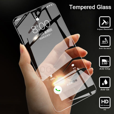 Image of Tempered Glass For Xiaomi Redmi S2 4X 4A 5A 5 Plus 6 6A Screen Protector Safety Protective Glass On Redmi Note 5 5A 6 Pro Film