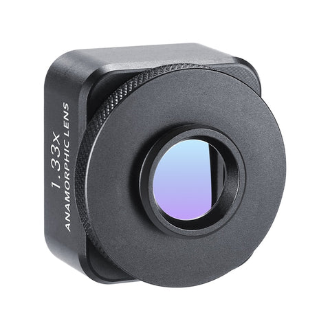 Image of Ulanzi Anamorphic Lens For Mobile Phone 1.33X Wide Screen Video Widescreen Slr Movie Mobile Phone Lens Videomaker Filmmaker