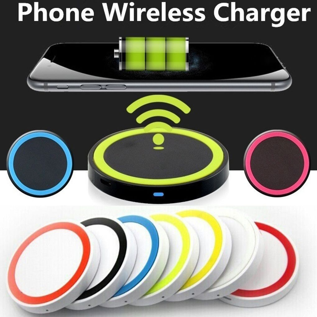 Wireless Charger Charging Pad USB Phone Charger for Samsung S9 S8 Plus S7  S6 edge Note 8 5 for iPhone X 8 8 plus for HTC