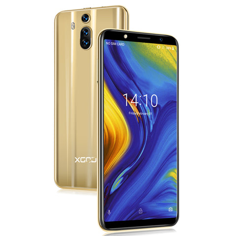 Image of XGODY Mate RS 3G Dual Sim Smartphone 6 Inch 18:9 Smart Android 8.1 Celular Quad Core 1GB+8GB 2800mAh 5MP Camera Mobile Phone GPS
