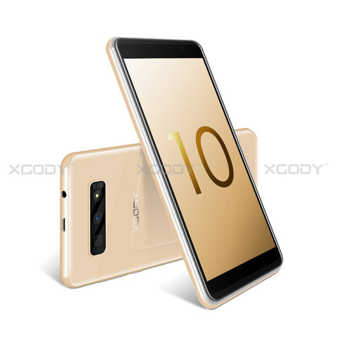 Image of XGODY S10 5.5 inch 3G Smartphone 18:9 RAM 2GB ROM 16GB MT6580 Quad Core Dual Camera Mobile Phone Android 8.1